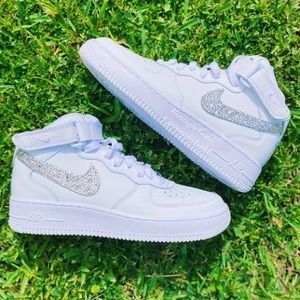 BLINGED OUT AIR FORCE 1 HIGH CUSTOM